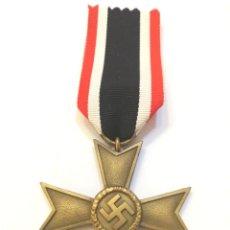 Militaria: ALEMANIA-CRUZ DEL MERITO MILITAR 2 CLASE 1939 SIN ESPADAS, BUNTMETAL,-ORIGINAL CON SU CINTA ORIGINAL. Lote 222915041