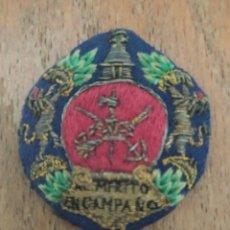 Militaria: MEDALLA MILITAR COLECTIVA LEGIÓN SOBRE FONDO AZUL. GUERRA CIVIL ESPAÑOLA.. Lote 223110432