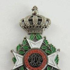 Militaria: GRAN CRUZ DE LEOPOLDO I. ORDEN BELGA -,L´ UNION FAIT LA FORCE -. ENCOMIENDA. PLATA Y ESMALTES.. Lote 223831246