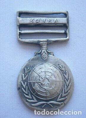 MEDALLA PLATA MILITAR DE KOREA SEGUNDA GUERRA MUNDIAL. (Militar - Medallas Internacionales Originales)
