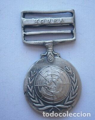 Militaria: MEDALLA PLATA MILITAR DE KOREA SEGUNDA GUERRA MUNDIAL. - Foto 8 - 223934845