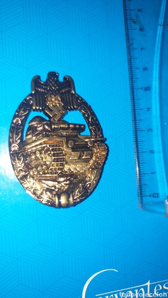 RÉPLICA. DISTINTIVO DE CARROS DE COMBATE PANZER ALEMANIA. NAZI, FURHER, WEHRMACHT (Militar - Reproducciones y Réplicas de Medallas )