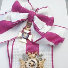 Militaria: GRAN CRUZ DE LA ORDEN DE SAN HERMENEGILDO CON BANDA Y VENERA. Lote 147723578