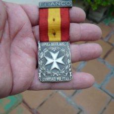 Militaria: MEDALLA DAMAS AUXILIARES SANIDAD MILITAR - PRENDEDOR FRANCO. Lote 224809151