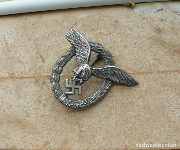 Militaria: insignia de piloto .Tercer Reich. - Foto 4 - 224926482