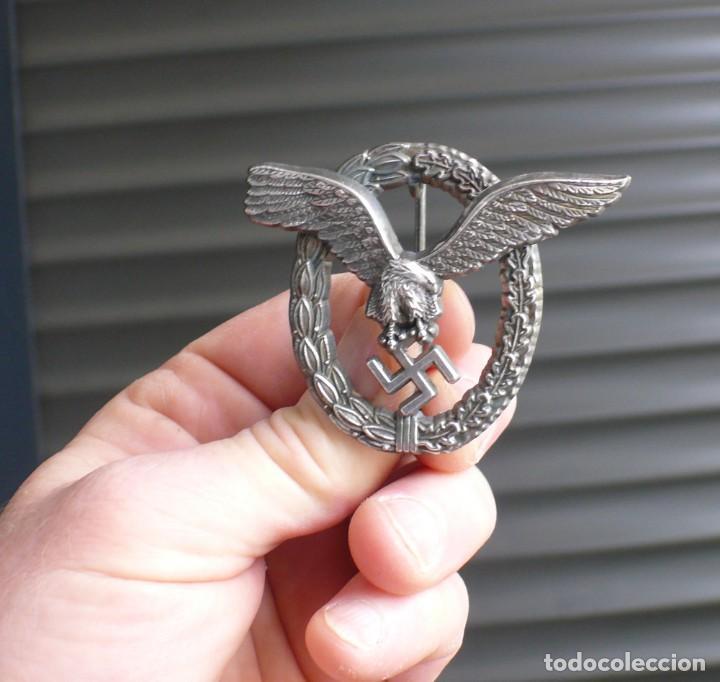 Militaria: insignia de piloto .Tercer Reich. - Foto 5 - 224926482