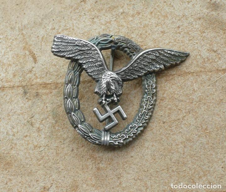 Militaria: insignia de piloto .Tercer Reich. - Foto 6 - 224926482
