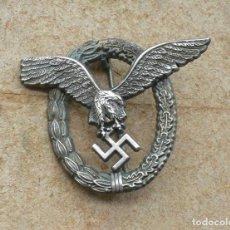Militaria: INSIGNIA DE PILOTO .TERCER REICH.. Lote 224926482