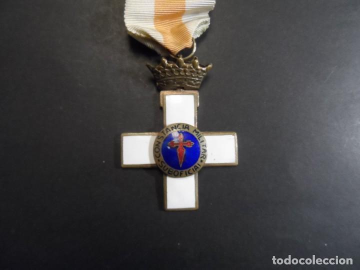 MEDALLA CONSTANCIA MILITAR SUBOFICIAL. ESTADO ESPAÑOL. SIGLO XX (Militar - Medallas Españolas Originales )