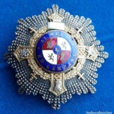 Militaria: PLACA DE LA CRUZ DE GUERRA - REGLAMENTO 1942. Lote 225154550