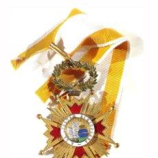 Militaria: ENCOMIENDA ISABEL LA CATÓLICA ÉPOCA ISABEL II. - 5,5 CM DE DIÁMETRO.. Lote 225321240