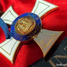 Militaria: ORDEN DE LA CORONA DE PRUSIA EN ORO. Lote 225452600