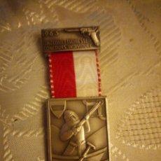 Militaria: MEDALLA EINZELWETT SCHIESSEN CONCOURS INDIVIDUEL 1963 ,PAUL KRAMER. Lote 225559515
