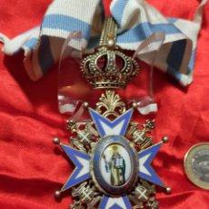 Militaria: ORDEN SERBIA DE SAN SABA. Lote 225826486