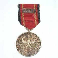 Militaria: MEDALLA DE BRONCE DE LA REPUBLICA FEDERAL ALEMANA POR MISIÓN CON LA OTAN. Lote 225842200