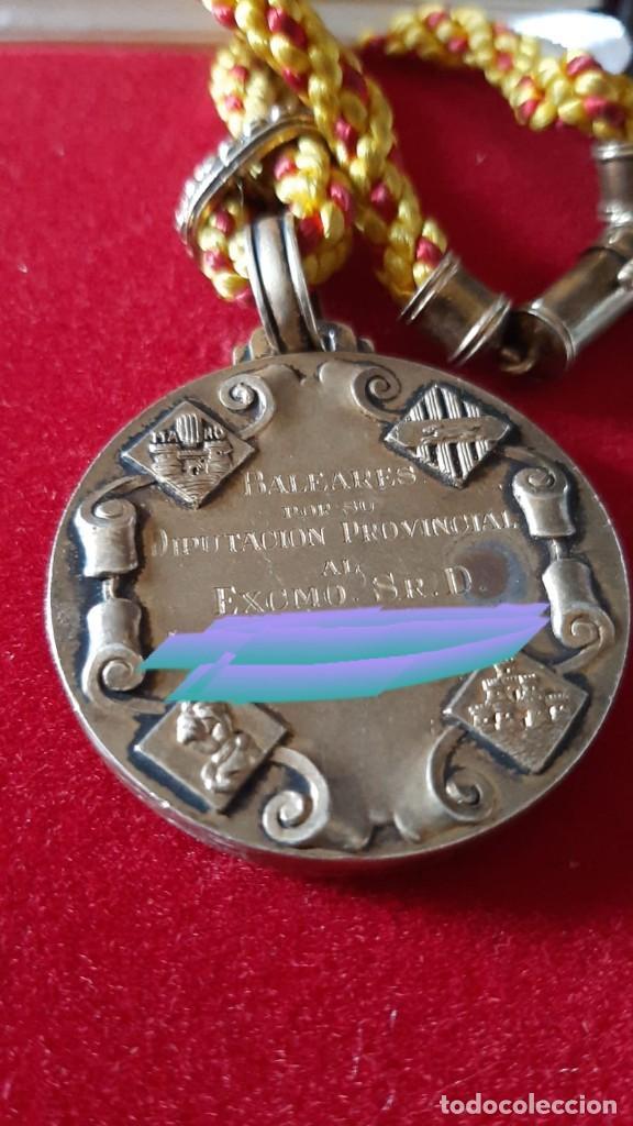 Militaria: Medalla diputación Baleares - Foto 2 - 225852590