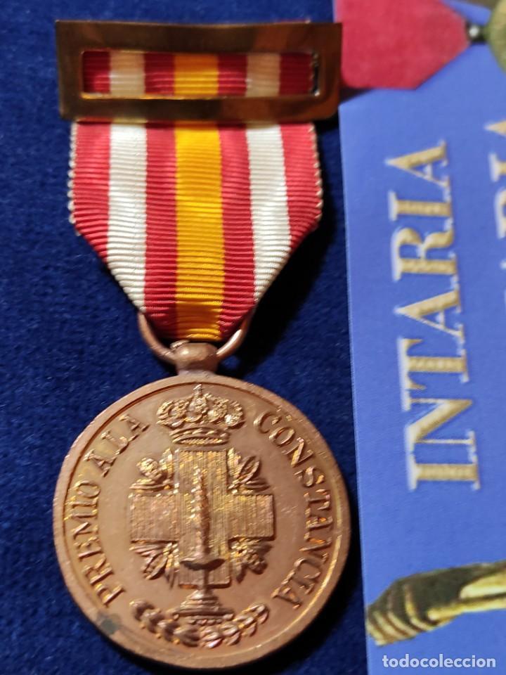 MEDALLA DE BRONCE DE CONSTANCIA DE LA CRUZ ROJA (Militar - Medallas Españolas Originales )