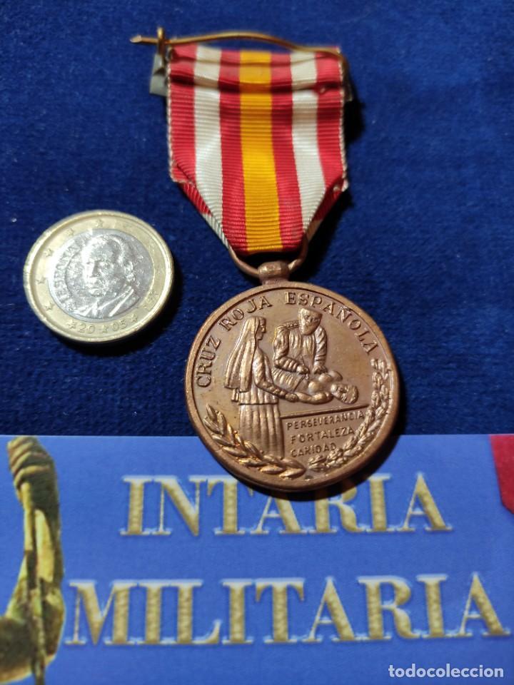Militaria: Medalla de bronce de constancia de la cruz roja - Foto 2 - 225861918