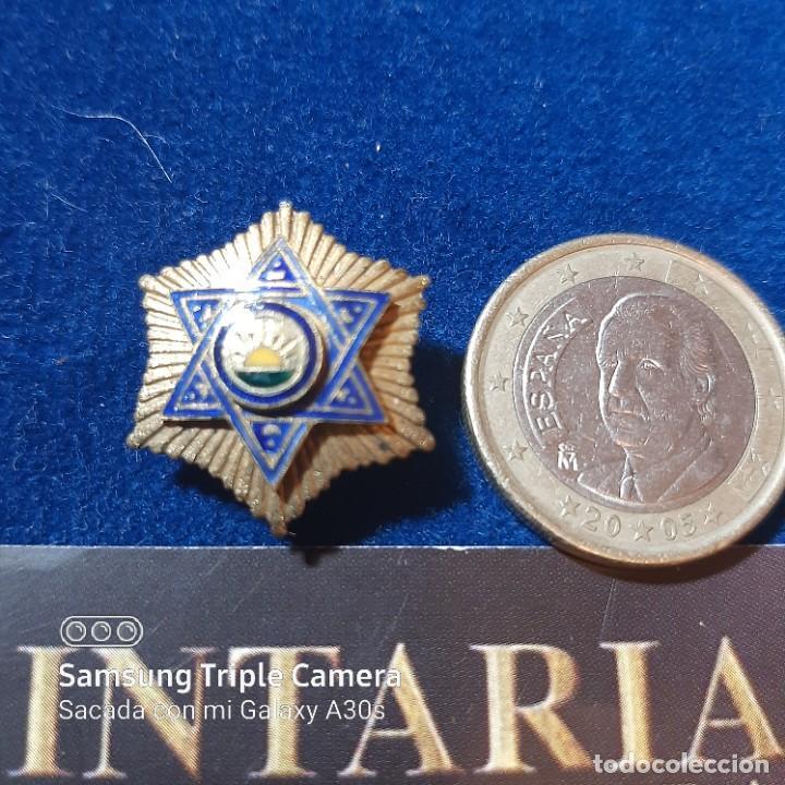 MINIATURA DE LA ORDEN DE LA MEDAHUIA (Militar - Medallas Españolas Originales )