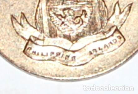 Militaria: MEDALLA USA DE LA CAMPAÑA DE LA GUERRA DE INSURRECCIÓN EN FILIPINAS - MINDANAO & SULU - 1901/1913 - Foto 3 - 226137405