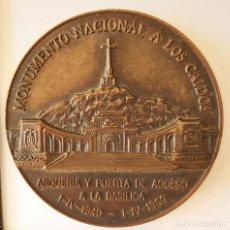 Militaria: MEDALLA FUNDACION NACIONAL FRANCISCO FRANCO. VALLE DE LOS CAIDOS. 1994. Lote 226906335
