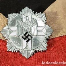 Militaria: NAZI SS JAGDKOMMANDO MEDAL AWARD SCREWBACK GES GESCH WW2 WWII GERMAN. Lote 227446240
