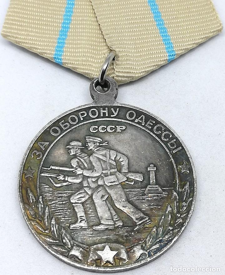 MEDALLA DEFENSA DE ODESSA. 1942. URSS-CCCP RUSIA COMUNISTA (Militar - Reproducciones y Réplicas de Medallas )