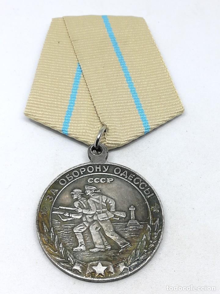 Militaria: Medalla Defensa de Odessa. 1942. URSS-CCCP Rusia Comunista - Foto 2 - 228033575