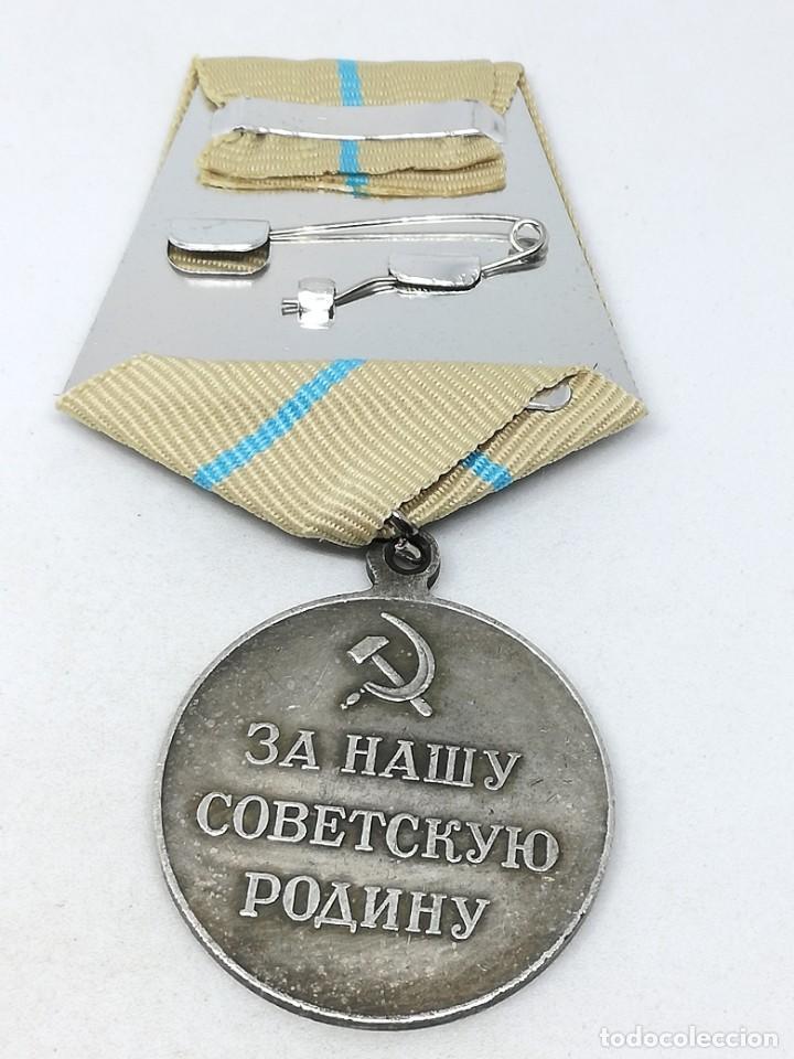 Militaria: Medalla Defensa de Odessa. 1942. URSS-CCCP Rusia Comunista - Foto 3 - 228033575