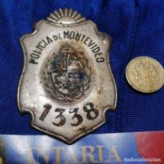 Militaria: PLACA DE POLICÍA LOCAL DE URUGUAY. Lote 228044765