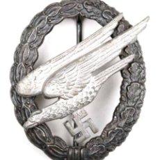 """Militaria: INSIGNIA DE PARACAIDISTA DE LA LUFTWAFFE DEL FABRICANTE ASMANN """"A"""", CÓDIGO """"2"""". Lote 228948615"""