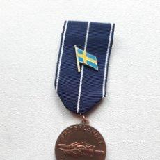 Militaria: WW2. FINLANDIA SUECIA MEDALLA GUERRA DE CONTINUACIÓN. TEXTO EN SUECO. Lote 229174755