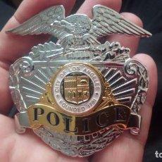 Militaria: BONITA PLACA POLICIA LOS ÁNGELES ANOS 80 PRECIOSA USA. Lote 287153243