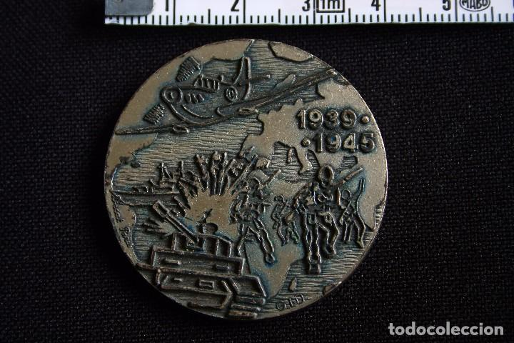 MEDALLA CONMEMORATIVA 2ª GUERRA MUNDIAL 1939-1945 (Militar - Medallas Internacionales Originales)