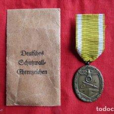 Militaria: MEDALLA CONDECORACIÓN ALEMANA MURALLA DEL ATLÁNTICO II SEGUNDA GUERRA MUNDIAL 100% ORIGINAL. Lote 230885110