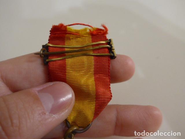 Militaria: Antigua medalla carlista vasca del arbol de gernika, 1875, original. - Foto 8 - 231394840