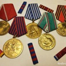 Militaria: MEDALLAS Y BARRITAS DE LA ANTIGUA YUGOESLAVIA. TOTALMENTE ORIGINALES. Lote 232143445