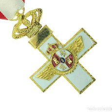 Militaria: MERITO AERONÁUTICO CRUZ DORADA. Lote 232181095