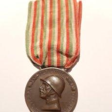 Militaria: 6. WW1. ITALIA. MEDALLA GUERRA ITALO AUSTRÍACA 1915-1918. BRONZO NEMICO. Lote 232246090