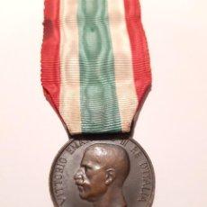 Militaria: 3. WW1 ITALIA. MEDALLA UNIDAD DE ITALIA. 1848 1918. VARIANTE. Lote 232246690