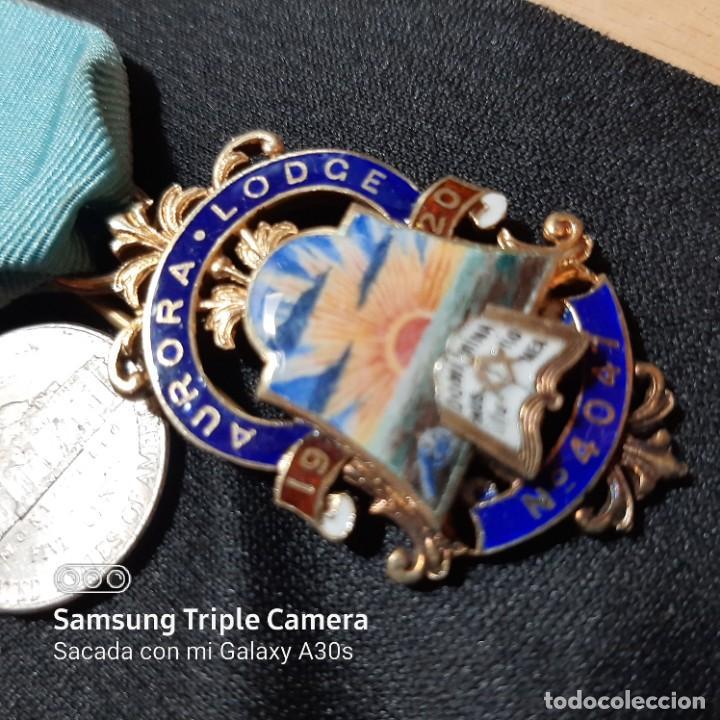 Militaria: 7 Medallas del mérito de Masonería británica - Foto 5 - 232661537