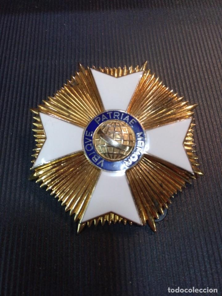 GRAN CRUZ AL MÉRITO DE BRASIL (Militar - Medallas Extranjeras Originales)