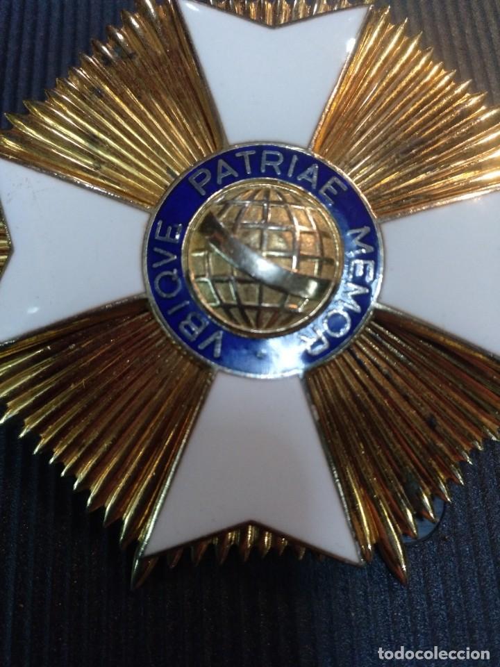Militaria: Gran Cruz al mérito de Brasil - Foto 2 - 232875313