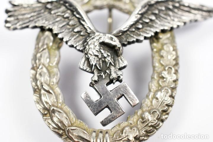 Militaria: Insignia Temprana de Piloto de la Luftwaffe de C.E Juncker, Berlin en su Estuche - Foto 4 - 233815015