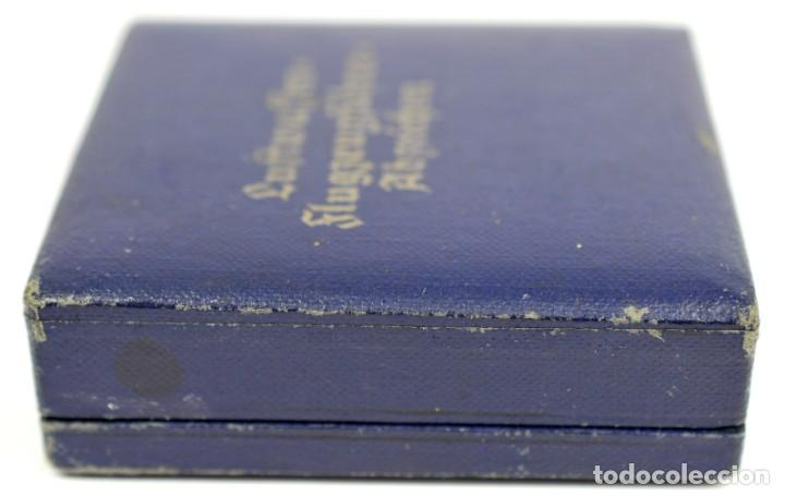 Militaria: Insignia Temprana de Piloto de la Luftwaffe de C.E Juncker, Berlin en su Estuche - Foto 21 - 233815015