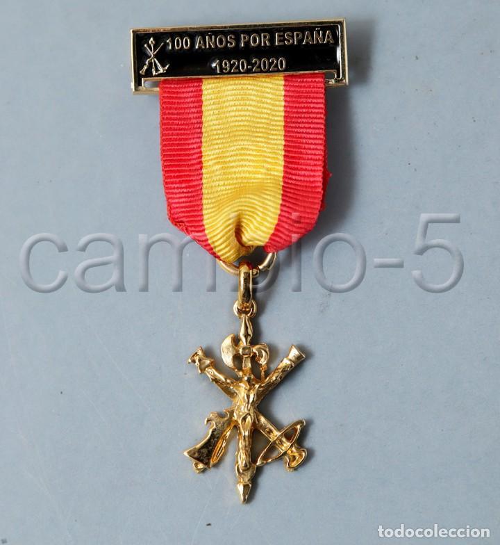 LEGIÓN ESPAÑOLA 100 AÑOS POR ESPAÑA 1920 - 2020 (Militar - Medallas Españolas Originales )