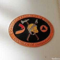 Militaria: PLACA CONSORCIO PROVINCIAL DE BOMBEROS DIPUTACIÓN DE GUADALAJARA.. Lote 234664295
