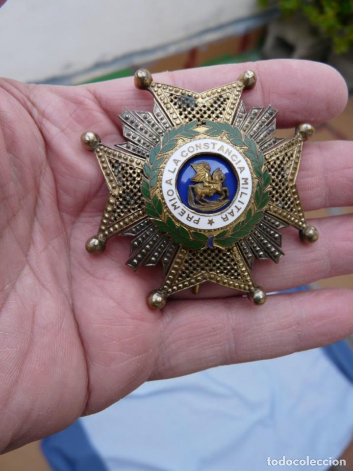 ANTIGUA PLACA ORDEN DE SAN HERMENEGILDO EPOCA FRANCO (Militar - Medallas Españolas Originales )