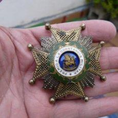 Militaria: ANTIGUA PLACA ORDEN DE SAN HERMENEGILDO EPOCA FRANCO. Lote 234704080