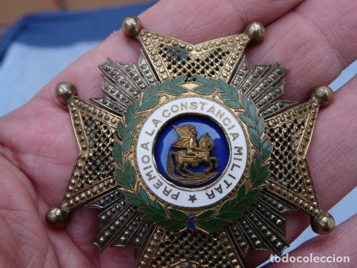Militaria: ANTIGUA PLACA ORDEN DE SAN HERMENEGILDO EPOCA FRANCO - Foto 5 - 234704080